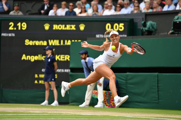 Angelique Kerber in the final against Serena Williams, The Championships, Wimbledon 2016 - Official Site by IBM #tennis