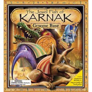 Story set in Egypt - fun decoding to solve mystery - The Jewel Fish of Karnak - by Graeme Base