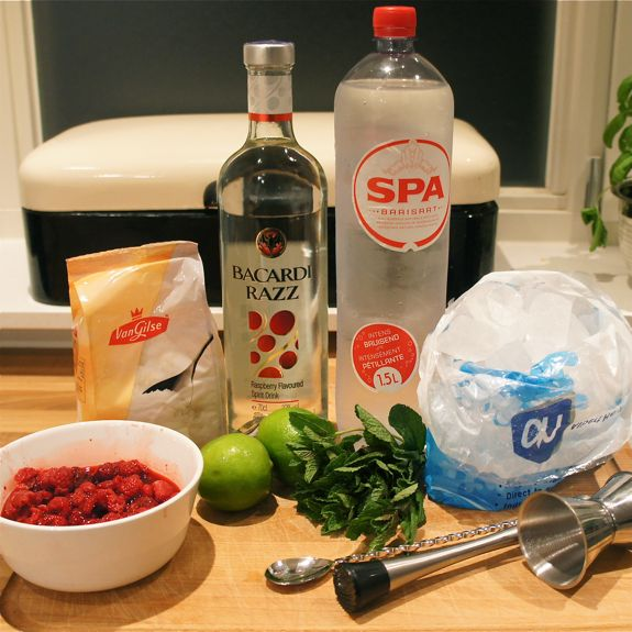 Recept: Raspberry Mojito Cocktail
