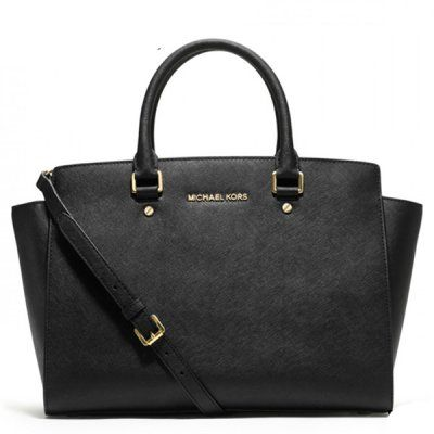 Shop MICHAEL Michael Kors Selma Large Top Zip Satchel Black at Your Navy  Exchange. You Serve, You Save on the best brands and products in Satchels.