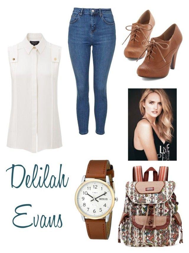 """Delilah Evans from my Wattpad Book, Emeline!"" by runnrgrl712 on Polyvore"