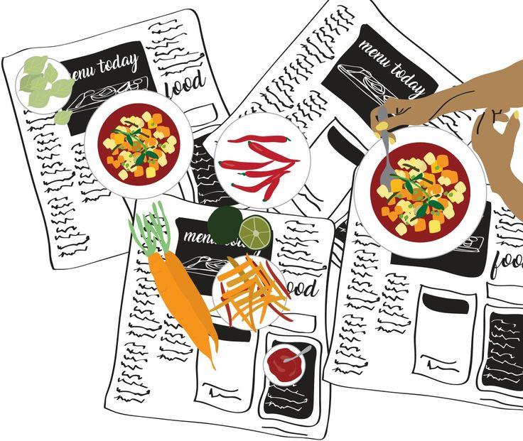 #illustration #digital #food
