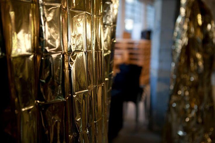 Shop of Form at Remade Market 27 October 2013. Lodz Design Festival 2013 #gold