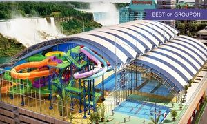 Groupon - Stay with Mini Golf and Optional Water-Park Passes at Skyline Inn Niagara Falls in Niagara Falls, ON. Dates into May. in Niagara Falls, ON. Groupon deal price: $65
