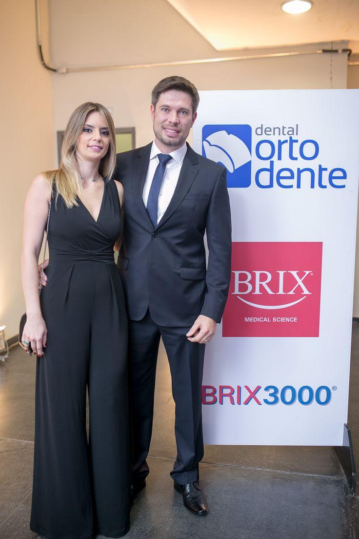 Pablo Nunes Moyses, Diretor Administrativo da Orto Dente e sua esposa, Ana Luiza Rabelo Tacco