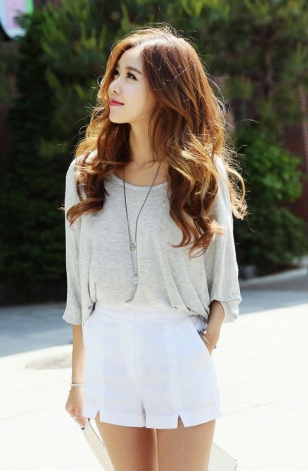 Simple and Sexy Korean Fashion Looks0341
