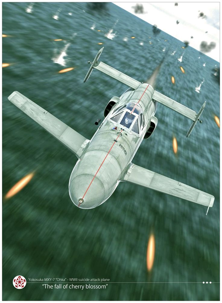 ArtStation - Cherry blossom fall , antoine moreau aviation art