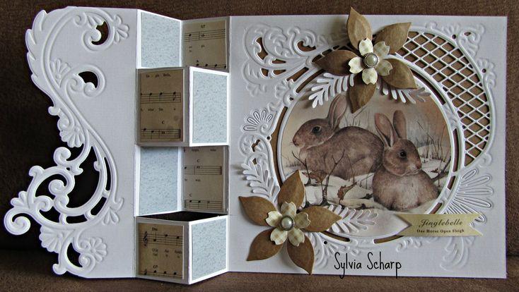 Sylvia's Card Fun: Separate folding card
