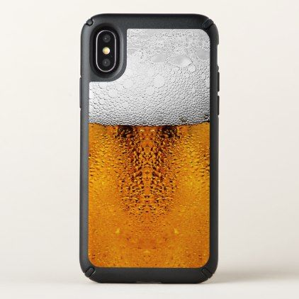 Beer Pint October Festival Stein Amber Speck iPhone X Case - personalize cyo diy design unique