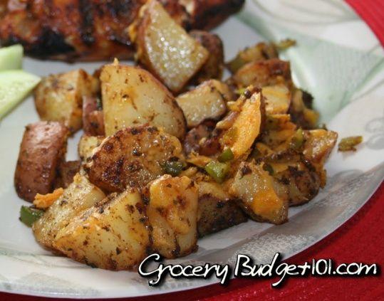 Southwestern Cheddar Steak FriesCheddar Potatoes, Southwest Cheddar, Steak Fries, Cheddar Steak, Food, Southwestern Steak, Cheddar Fries, Steak Potatoes, Southwestern Cheddar