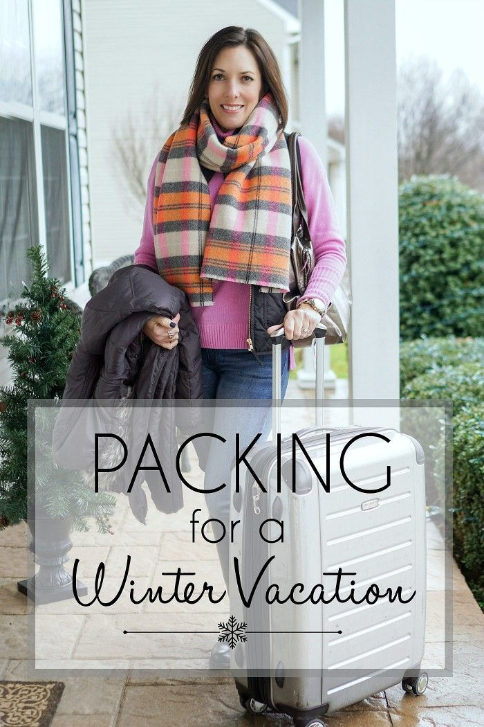 Packing for a Winter Vacation: When I pack, I usually start out by planning what…