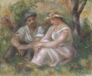 Conversation - Pierre Auguste Renoir - The Athenaeum