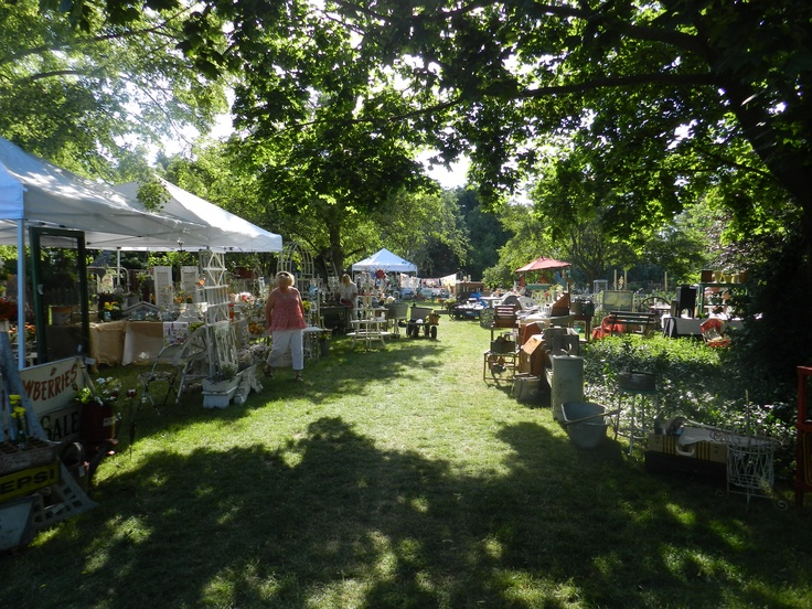 Our Annual Antique and Garden show held in June brings dealers from Illinois and Wisconsin.