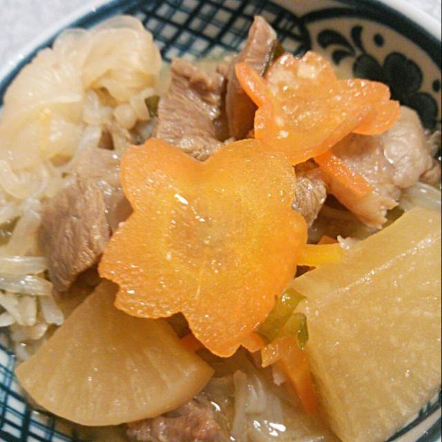 お肉が柔らかく仕上がりました! - 27件のもぐもぐ - 牛すじの煮込み 白味噌仕立て by 裕子