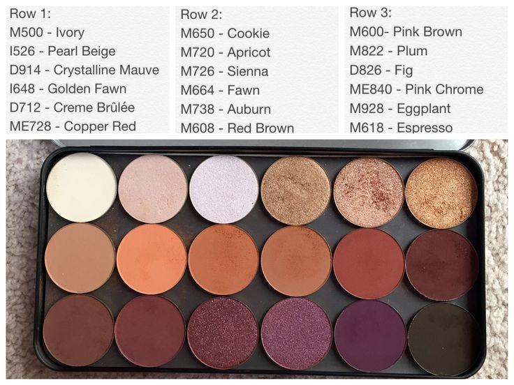 Makeup Forever Shadows