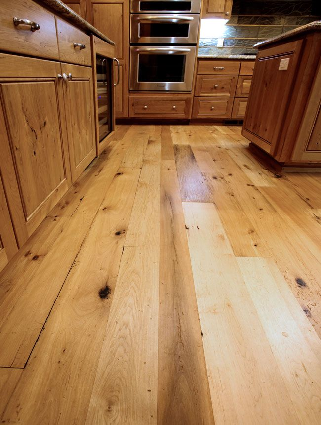 Dark knots to tie in dark cabinets Antique Beech Maple Hardwood Flooring  For the Home  Maple