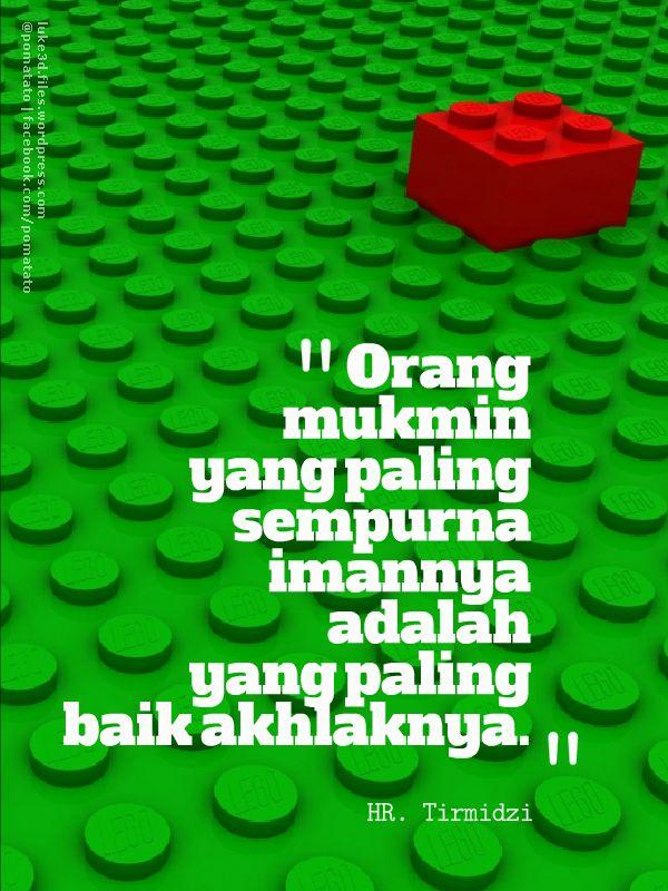 Akhlak | @pomatato tweet.