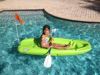 The Pelican Sport Solo Kid's Kayak - George Sayour