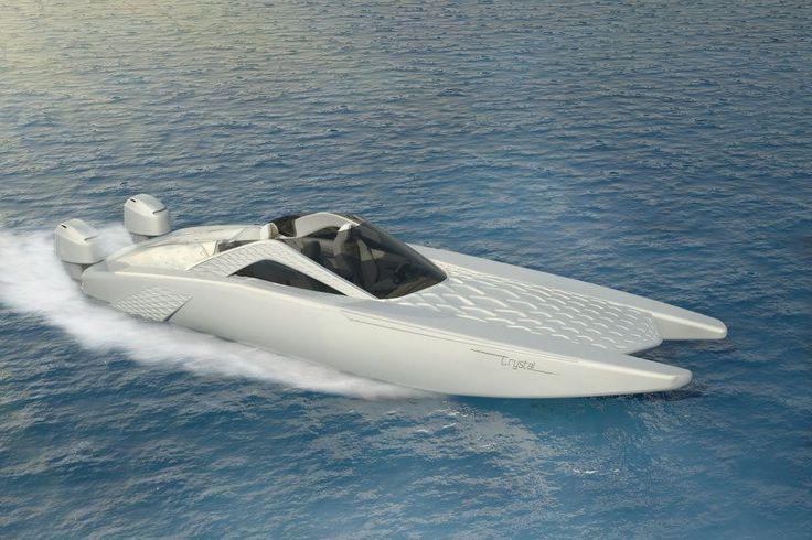 Crystal Spire Boat