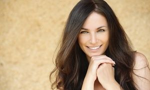 Groupon - Haircut with Keratin, Deep-Conditioning, or Makeup from Cindy Webster…