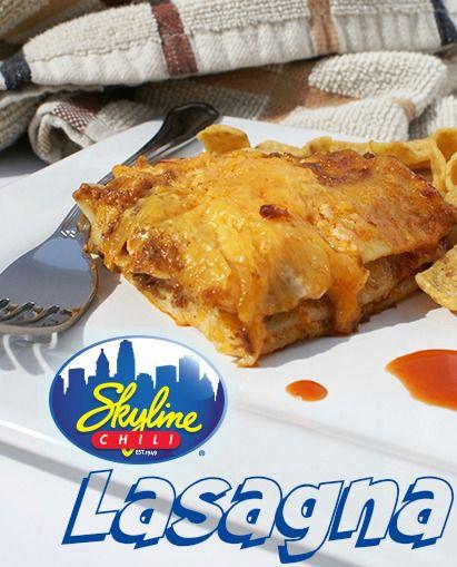 Skyline Chili Lasagna