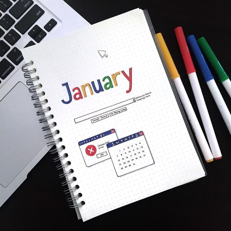 25 Technology and Social Media Bullet Journal Spread Layout Ideas #BULLET #Idee …   – Stuff