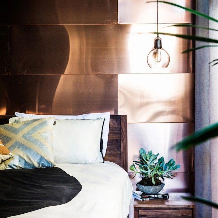 The Block Master Bedroom 2014 32 best copper trend images on pinterest   master bedroom, copper