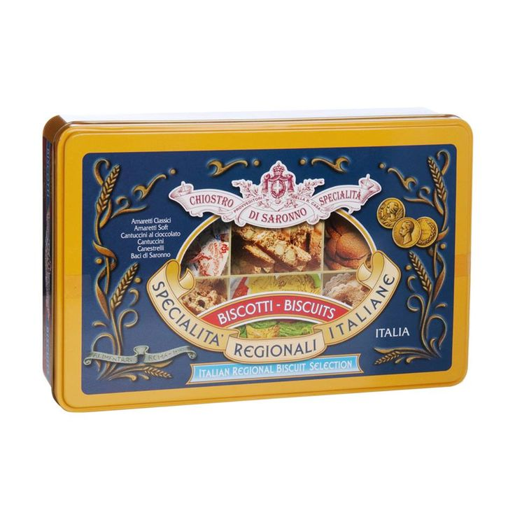 Biscuits assortis - 28 $ CHIOSTRO DI SARONNO Assorted cookies