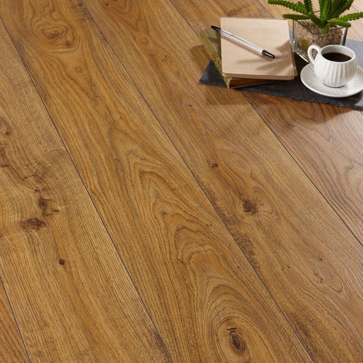 £18 psm Quick-Step Andante Natural Oak Effect Laminate Flooring 1.72 m² | Departments | DIY at B&Q