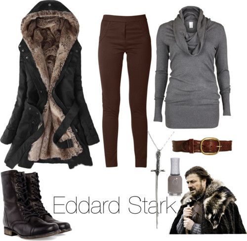 LOVE the coat,  and the boots. Not really anything else.