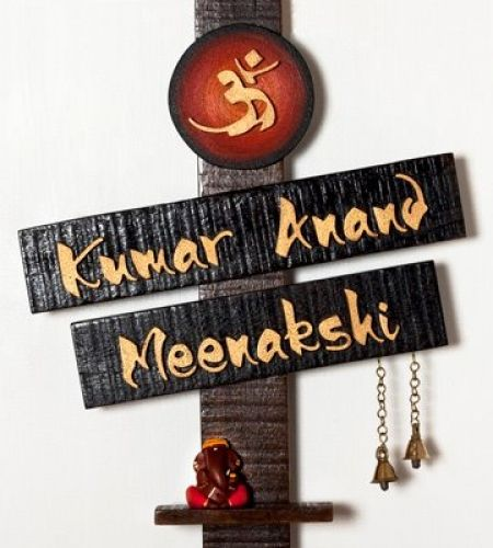 Shop for Name Plates Terracotta Long Lasting - Name Plates from Rangamaati Handicrafts