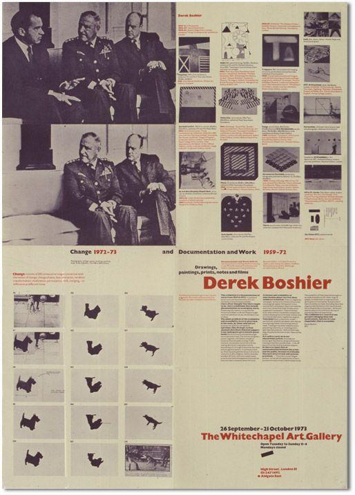 Richard Hollis - Whitechapel Posters