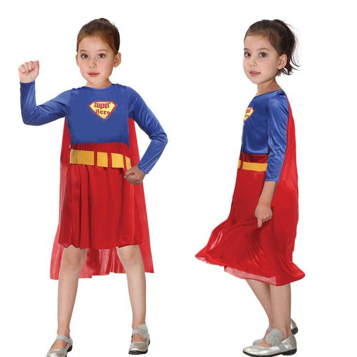 Fashion Halloween Costume For Kids  Kids Boys Girls Superman Performance Gift