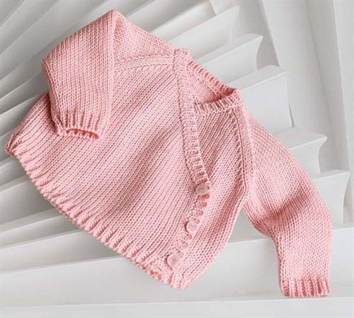 Bergere de France Origin Cross Your Heart Jacket Knitting Pattern