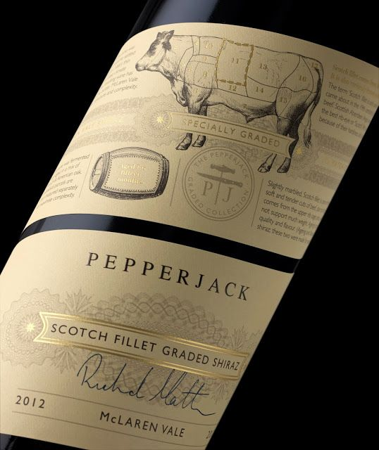 Pepperjack wine / designed by The Collective Design Consultants