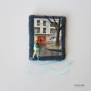 My days are gone a wandering  minimass® TINY ART by Anne-Marie Ros .nl #15 is available - makes a great gift or just spoil yourself ;)