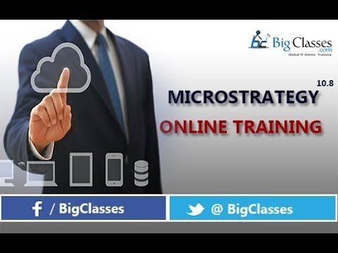 To attend online training in live onMICROSTRATEGY 10.8 class, click here :http://bigclasses.com/microstrategy-o... or call us : USA: +1 732-325 -1626 India: 8008 -11- 4040 Bigclasses provides you Microstrategy 10.8 training video explains the basics of Microstrategy, what is Microstrategy. This MICROSTRATEGY 10.8 tutorial is especially designed for beginners to learn in brief. #bigclasses #online #training #courses #OnlineTraining #tutorials #OnlineClasses #Microstrategy