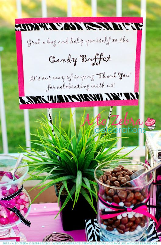 Baby Shower Candy Buffet Sayings Custom Events Blog