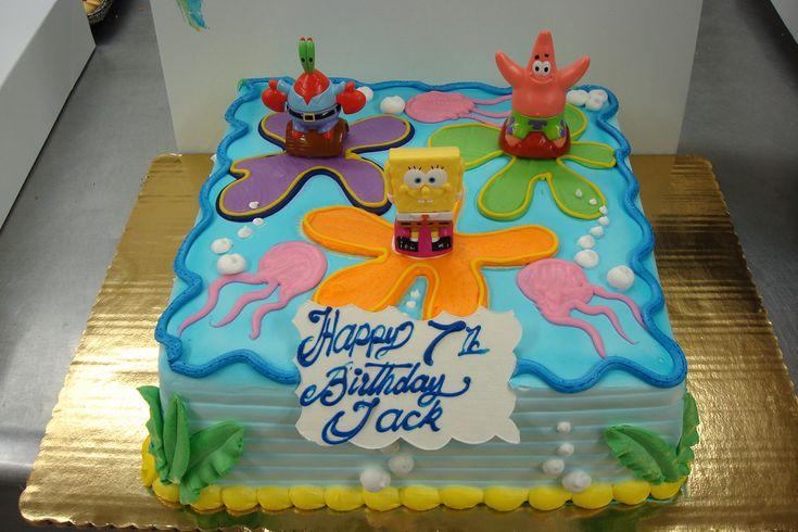 Dsc03388 in 2020 birthday sheet cakes spongebob
