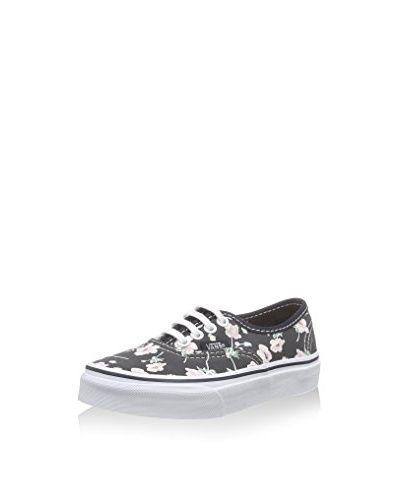 Vans Sneaker K Authentic [schwarz/rosa]