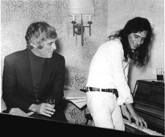 Burt Bacharach and Alice Cooper