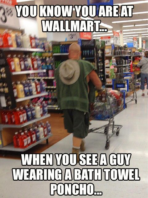 The people of Walmart...