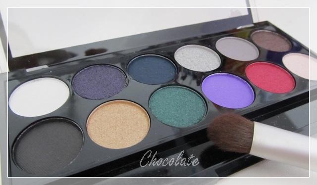 MUA Glamour Nights Eyeshadow palette