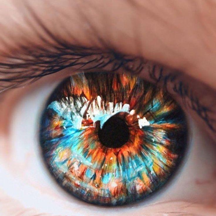 Картинки необычных глаз