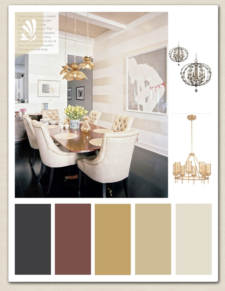 Gold Cream Cranberry And Espresso Color Palette For Your