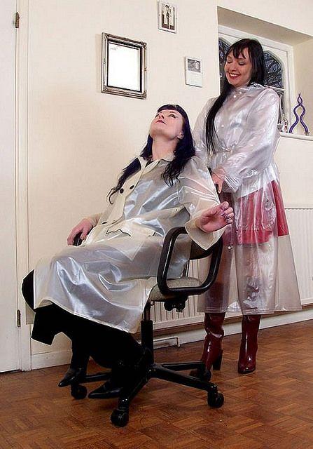 Burgundy Lizas (7) | Freya's world of high heel rubber boots | Flickr