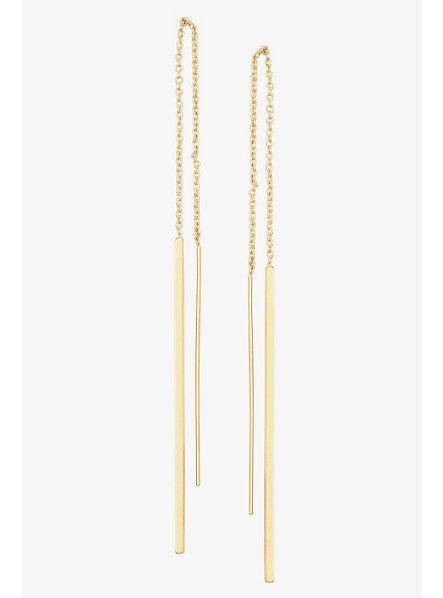 Gold Bar Chain Linear Threader Earrings Torrid Jewelry Pinterest And Jewels
