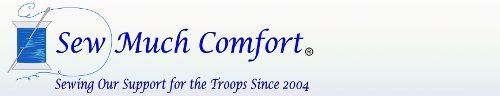Sew much Comfort donates clothing to wounded service men and women in all branches of the #military