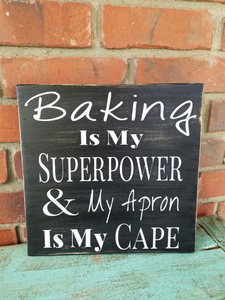 Baking sign bakers gift bakery sign baker lover bakers