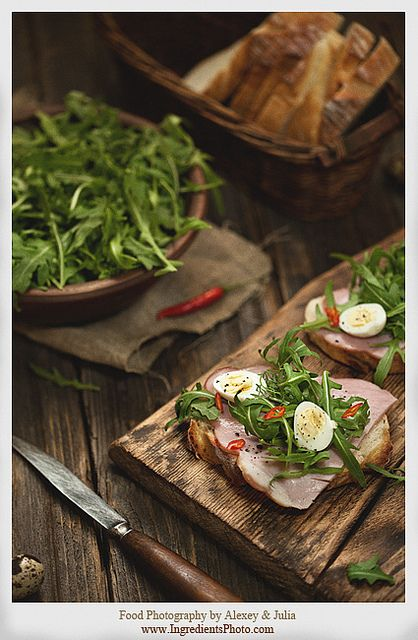 Sandwich with Ham by Food Photography by Alexey & Julia, via Flickr